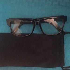 Black (nerd glasses) non prescription